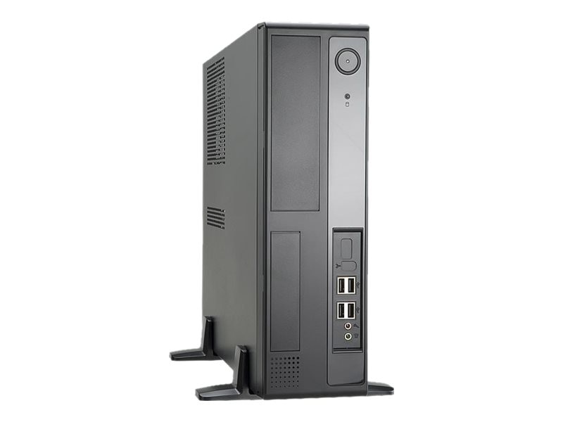 In-win MicroATX Slim Case, 300W Power Supply, Steel Case, Black, IW-BL641S.300TBL, 13654273, Cases - Systems/Servers