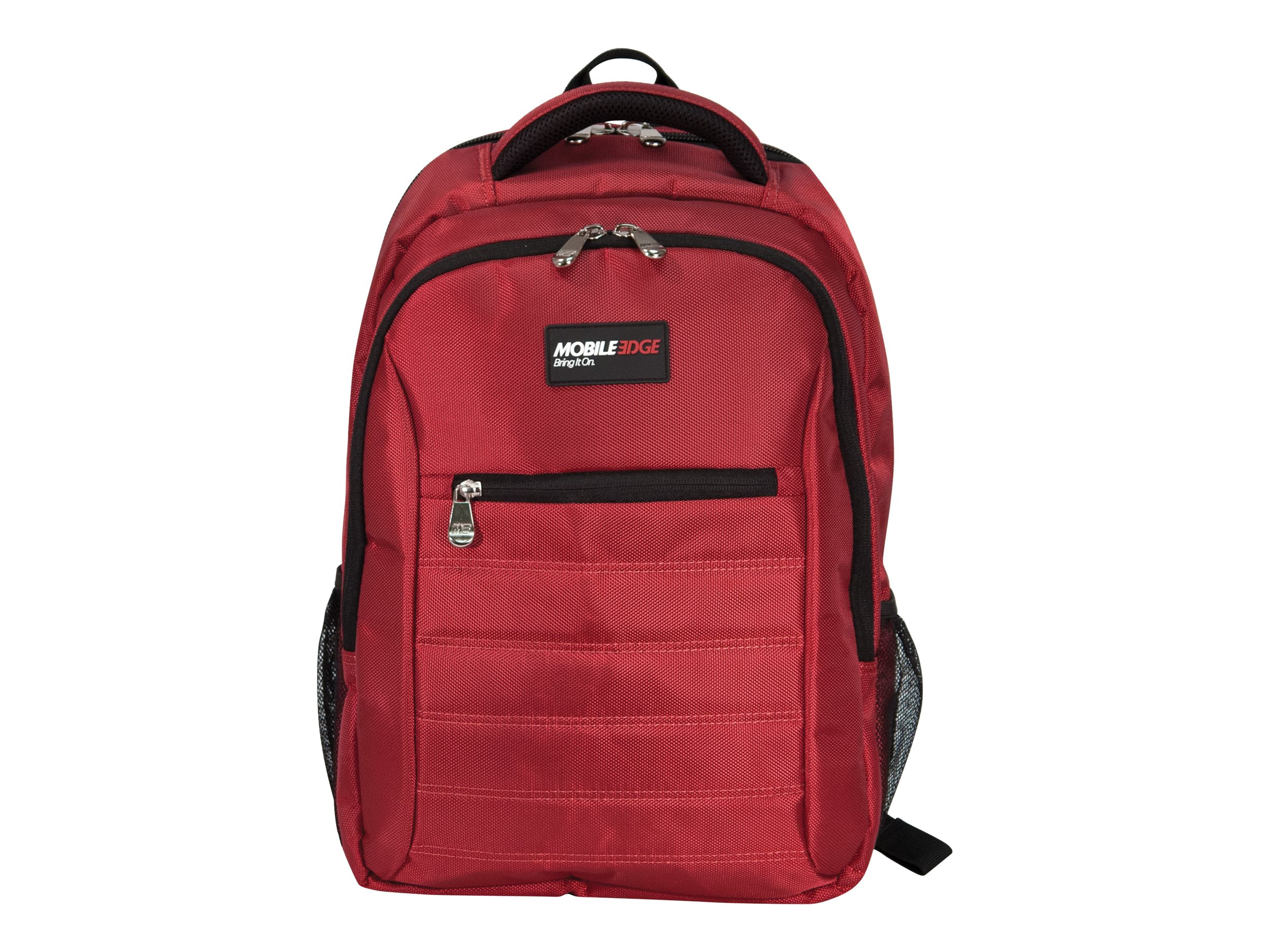 Mobile Edge SmartPack 16 17 for Mac, Crimson Red, MEBPSP7, 31030974, Carrying Cases - Other