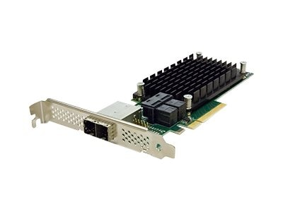 Atto 8-Port External 8-Port Internal 12Gb s SAS SATA to PCIe 3.0 Host Bus Adapter