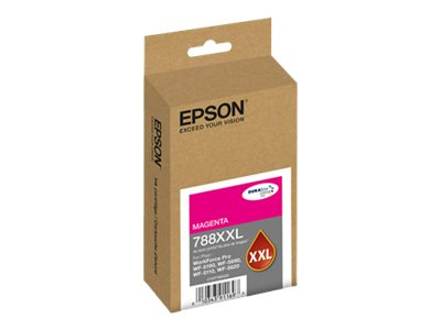 Epson Magenta T252 Durabrite Ultra XL Ink Cartridge, T788XXL320