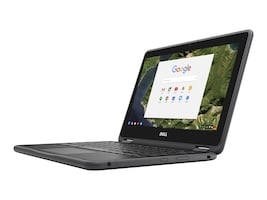 Dell Chromebook 3189 Celeron N3060 1.6GHz 4GB 16GB SSD 3C 11.6 HD MT Chrome OS, 2NN30, 33770221, Notebooks - Convertible