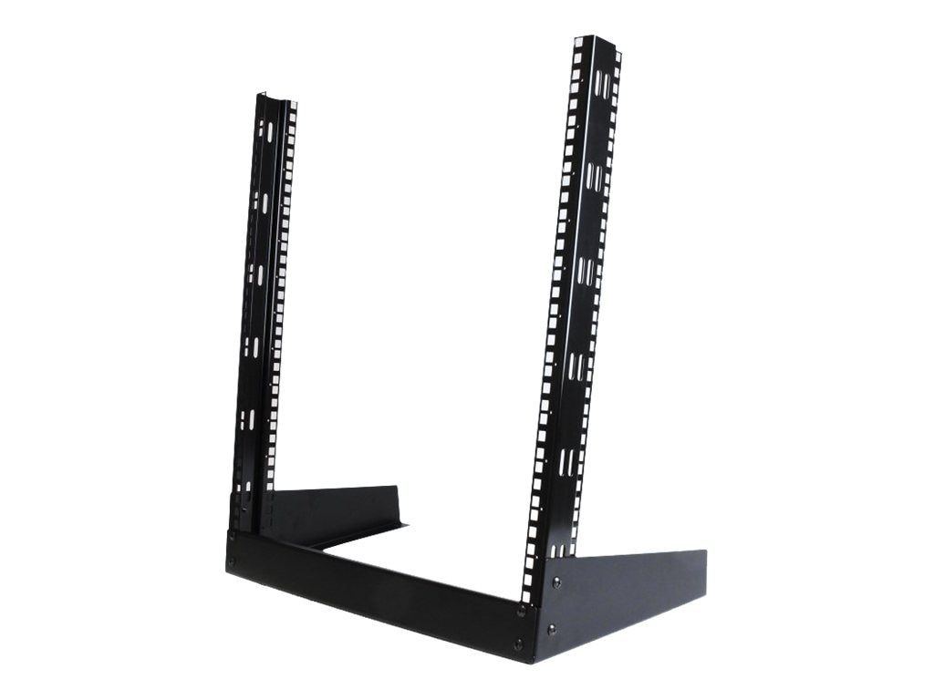 StarTech.com 19in Desktop Open Frame 2-Post Rack, 12U, RK12OD, 9897539, Racks & Cabinets