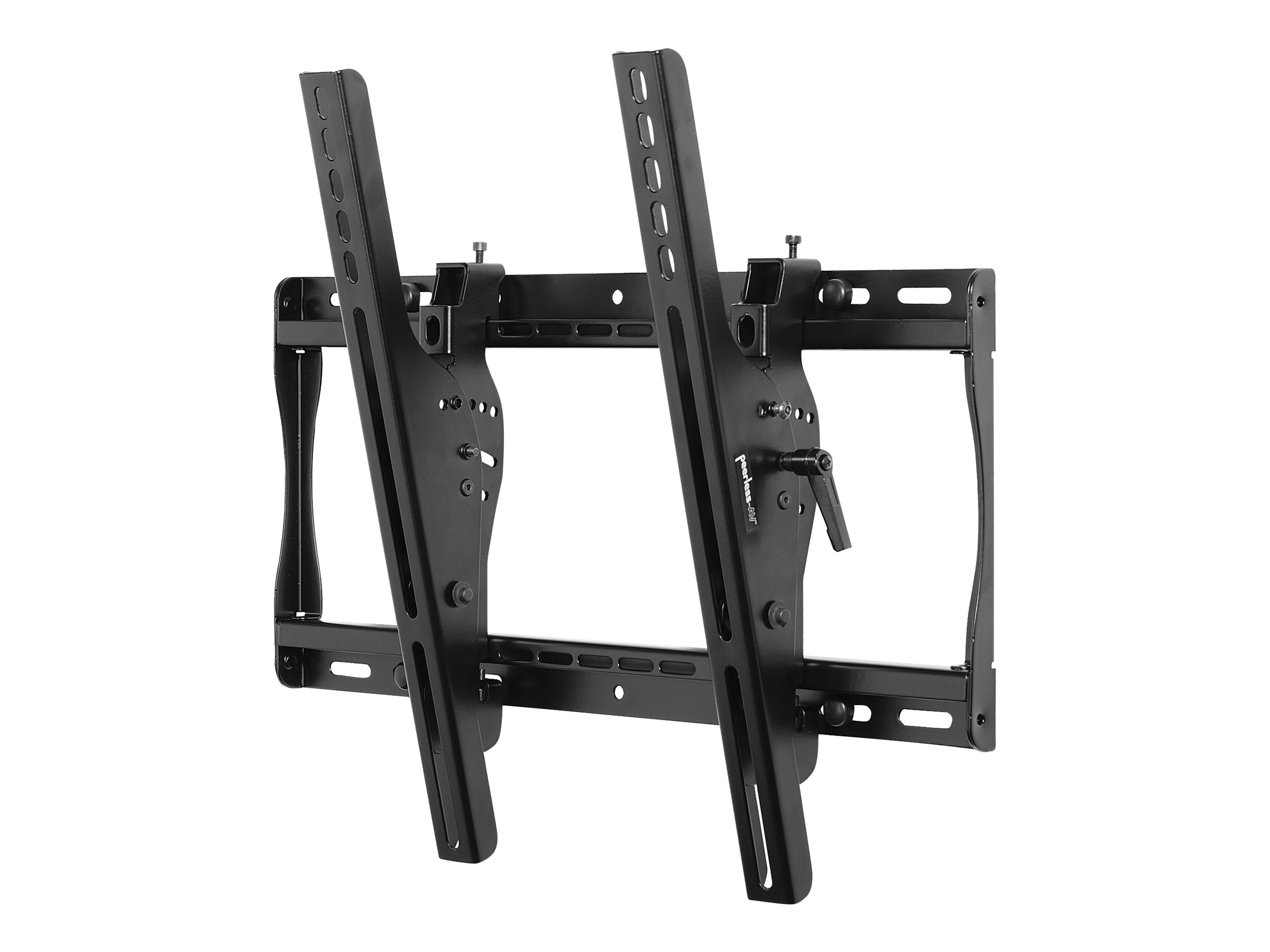 Open Box Peerless Smartmount Universal Adjustable Tilt Wall Mount for 22-46 Flat Panels, Standard Model, Black