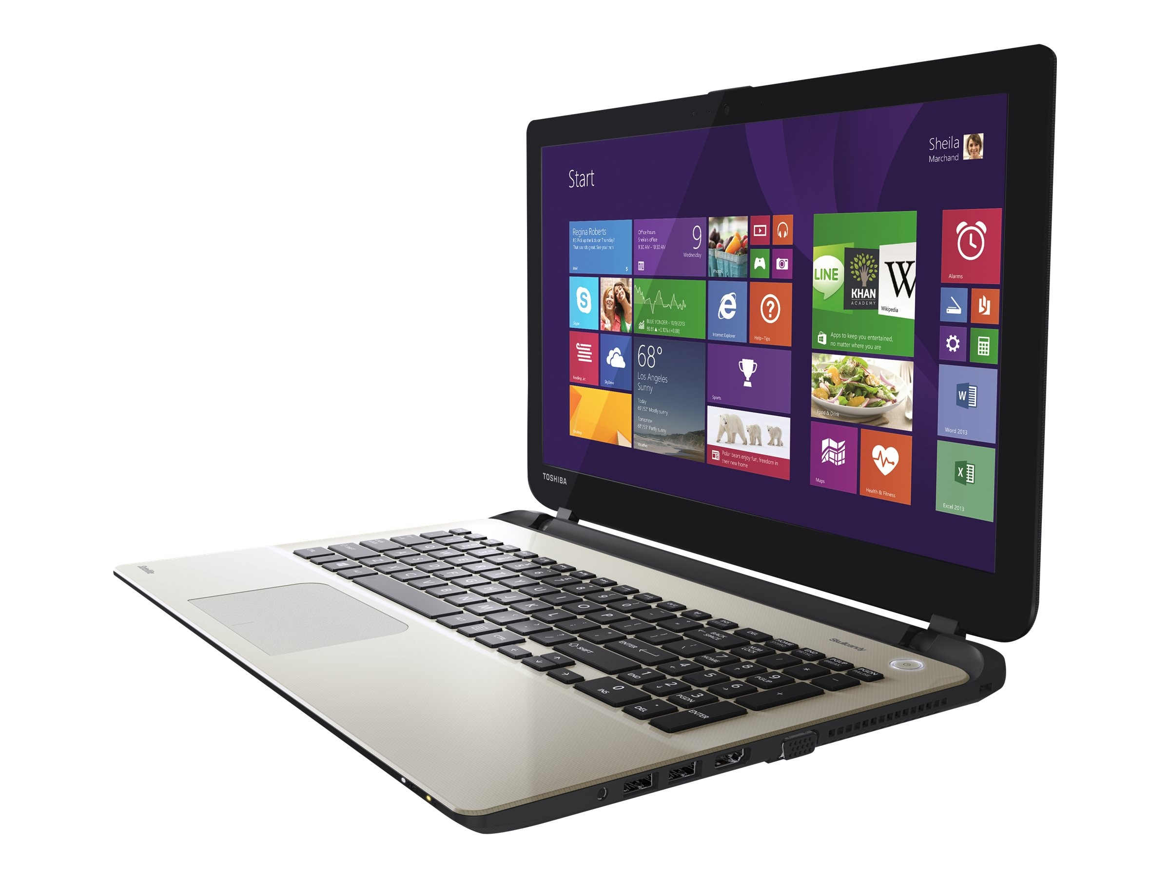 Toshiba Satellite L55-B5276 Core i5-4210U 1.7GHz 8GB 1TB DVD SM bgn NIC WC 4C 15.6 HD W8.1, PSKT4U-07T00G, 30657193, Notebooks