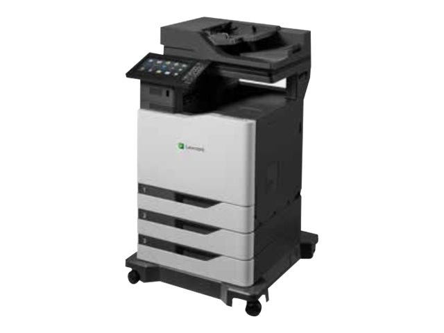 Lexmark CX825de Color Laser MFP w  CAC Enablement, 4-Year Onsite Repair & Air Force Code (TAA Compliant)
