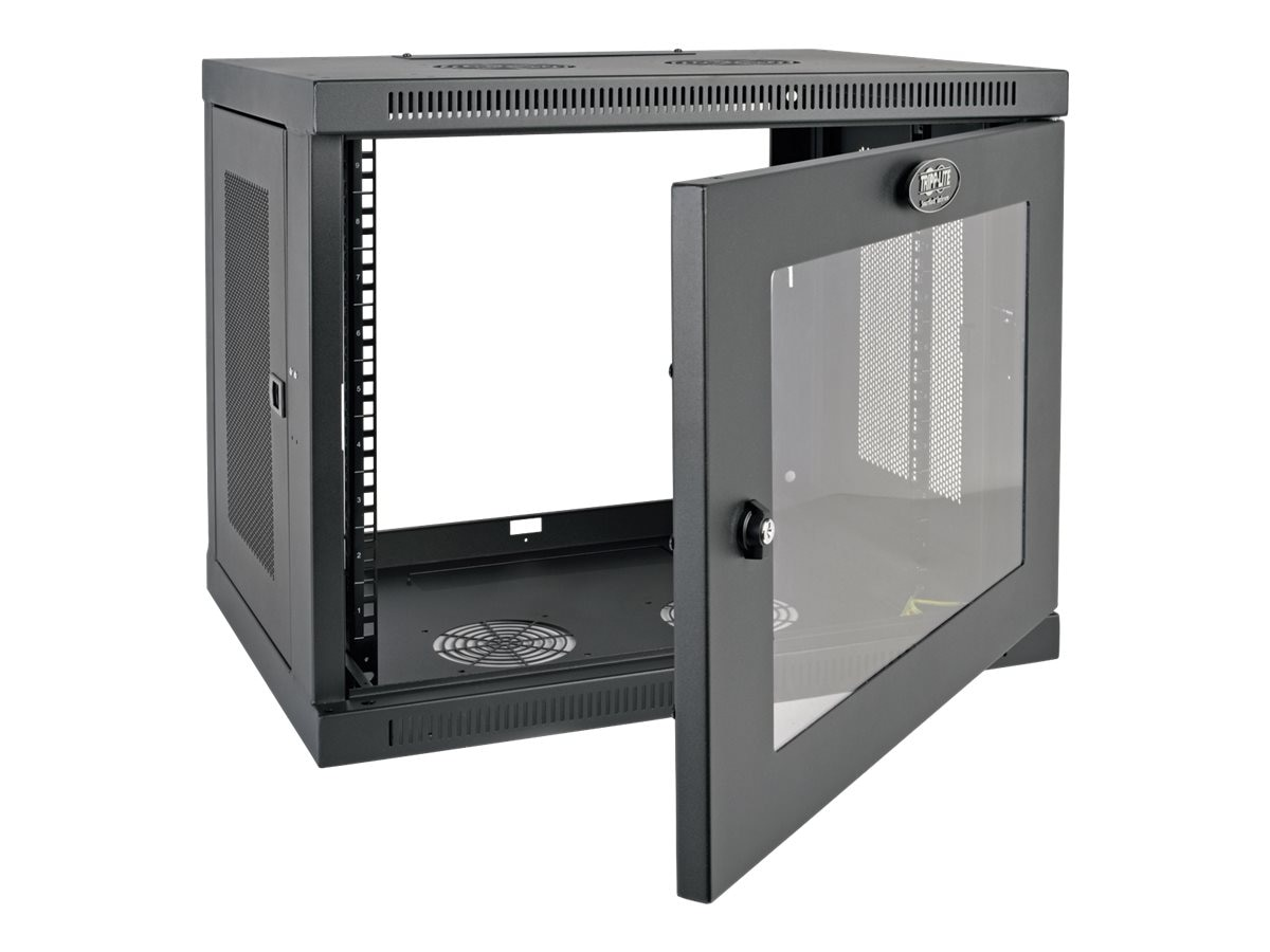Tripp Lite SmartRack 9U Wall-Mount Standard-Depth Rack Enclosure Cabinet, Instant Rebate - Save $10, SRW9UG