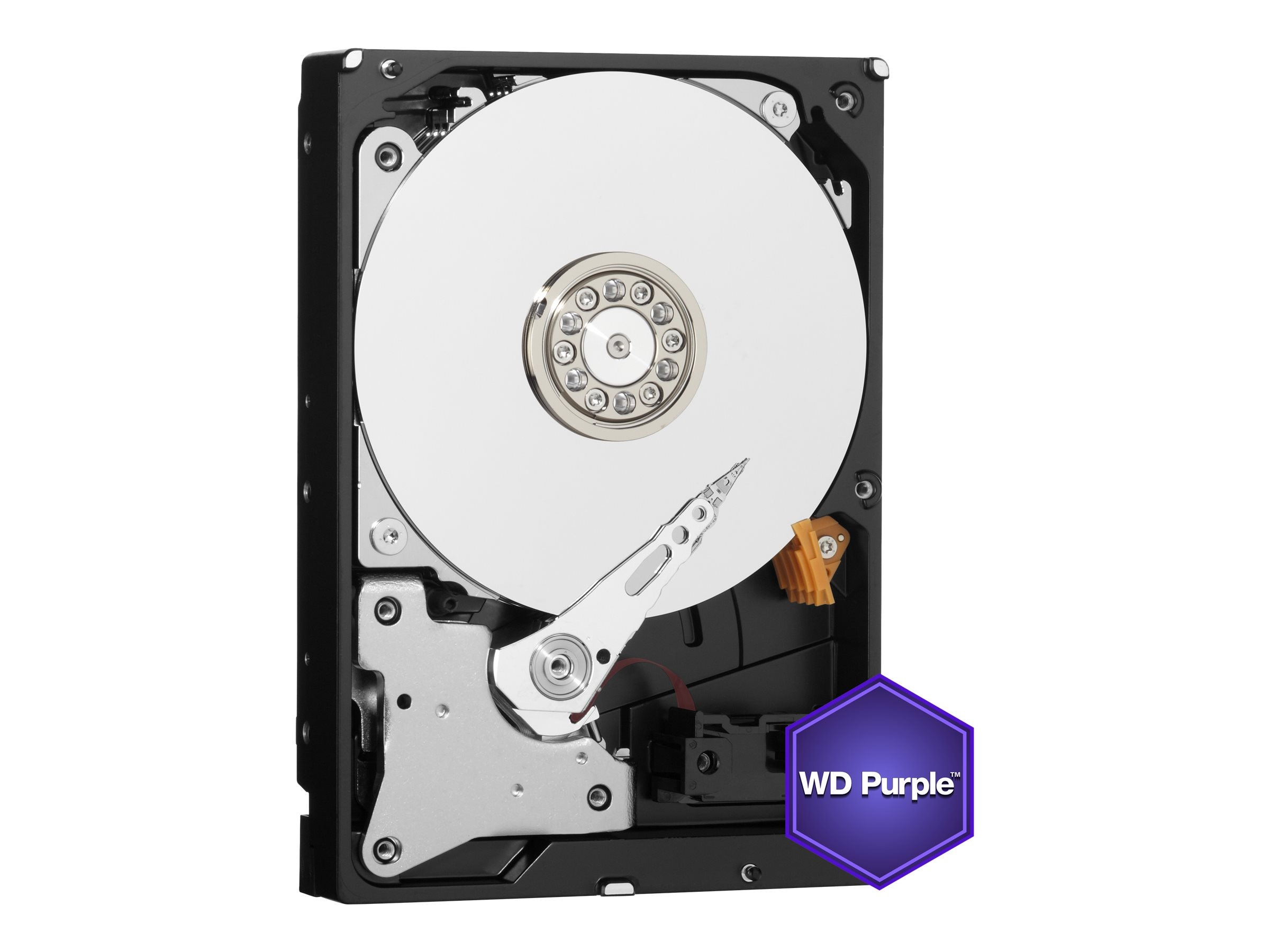 WD 5TB WD Purple SATA 6Gb s 3.5 Internal Hard Drive - 64MB Cache, WD50PURX