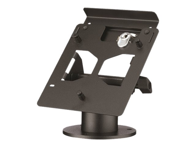 MMF POS Lockable Terminal Stand, Triple Security for Ingenico ISC250