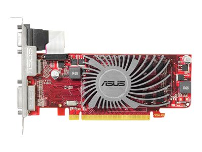 Asus Radeon HD 6450 Low-Profile PCIe 2.1 Graphics Card, 1GB DDR3, EAH6450 SILENT/DI/1GD3 (L