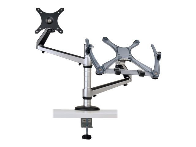 Tripp Lite Full Motion Dual Desk Clamp for 13 to 27 Monitors and Laptops up to 15, DDR1327NBMSC, 19332953, Stands & Mounts - AV