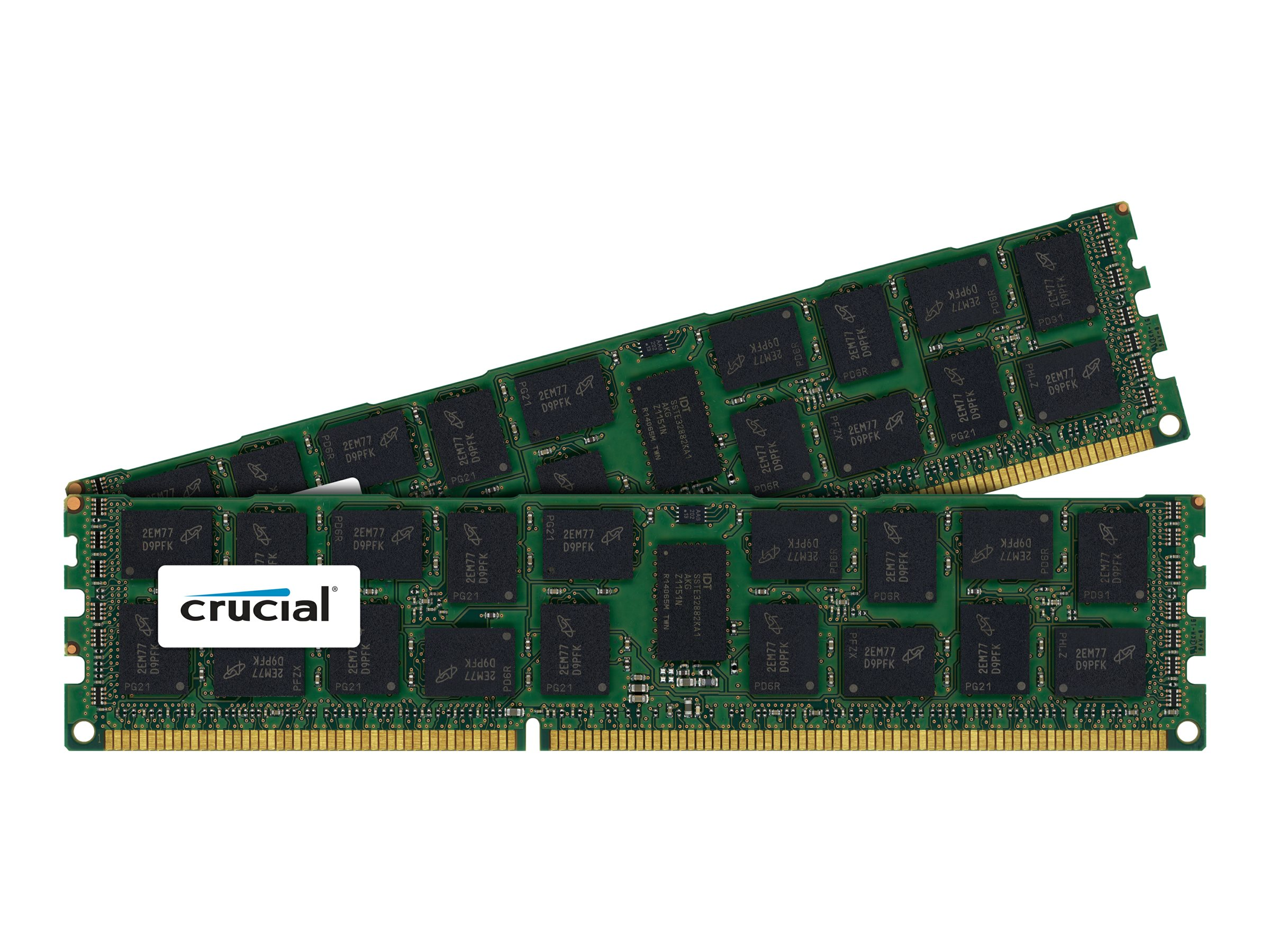 Crucial 64GB PC3-10600 240-pin DDR3 SDRAM DIMM Kit, CT2K32G3ERSLQ41339, 16797801, Memory