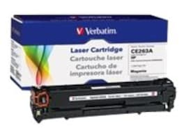 Verbatim CE263A Magenta Toner Cartridge for HP LaserJet CP4025 & CP4525, 98337, 16248060, Toner and Imaging Components