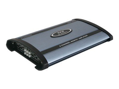 Pyle 3000 Watt 4-Channel Bridgeable Amplifier, PLAM3000