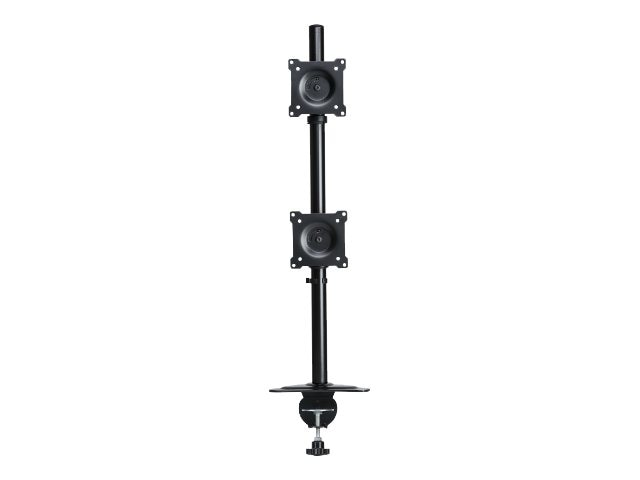 DoubleSight Dual Monitor Stand, Vertical Style, 6 - 30 lbs Capacity per Monitor
