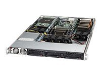 Supermicro Barebone, 1U RM, UP C602, Max 256GB, 3x3.5 HS, 2xM2075 GPU, 1400W PS