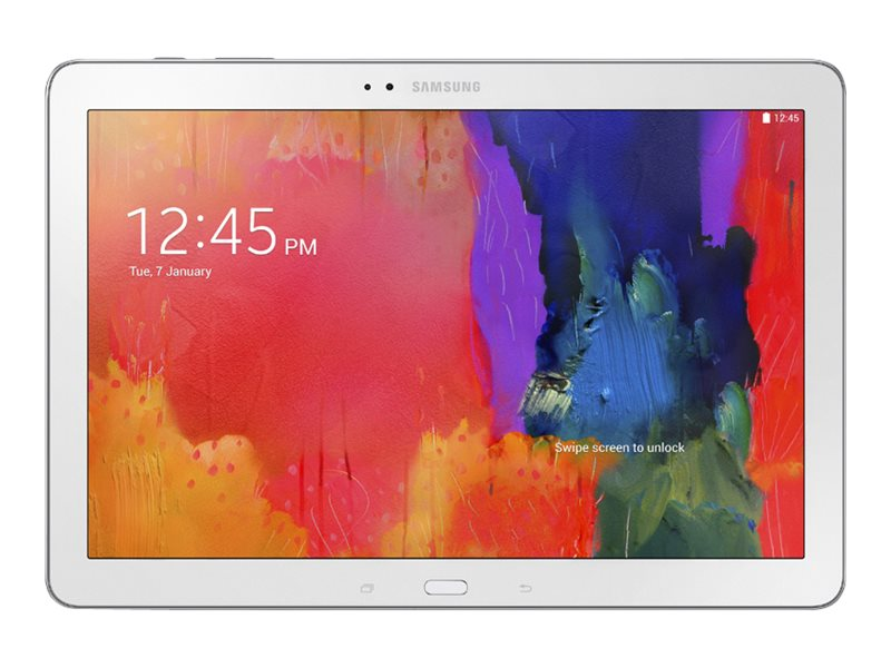 Samsung Galaxy Note Pro QC 1.3GHz 3GB 32GB abgn ac BT GPS 2xWC 12.2 WQXGA Android 4.4, White, SM-P9000ZWVXAR, 16769279, Tablets
