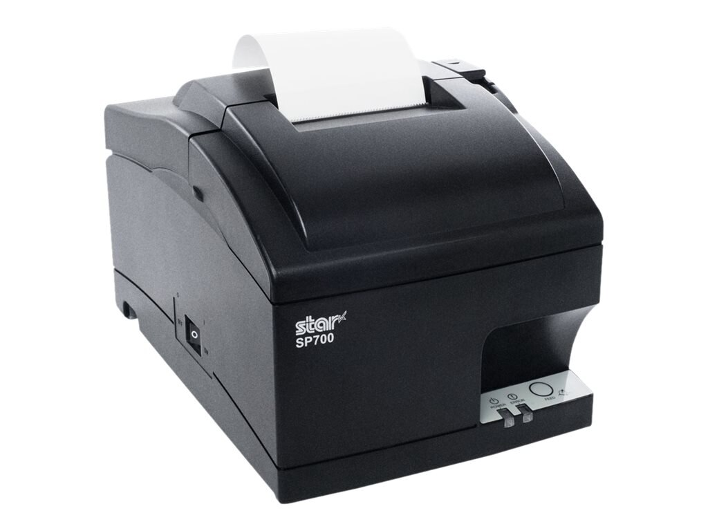 Star Micronics SP742ME LAN Inpact Printer - Gray, 39336531, 18719232, Printers - Dot-matrix