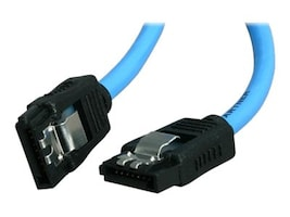 Rosewill Serial ATA III Round Cable with Locking Latch, Blue, 19.7, RCA-RU-19-SA3-BL, 17754132, Cables