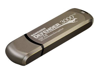 Kanguru™ 4GB Defender 3000 Pro (Encrypted USB), KDF3000-4G-PRO, 24870650, Flash Drives