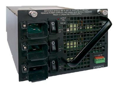 Cisco Catalyst 4500E 9000W Triple Input AC Power Supply, PWR-C45-9000ACV, 16042221, Power Supply Units (internal)
