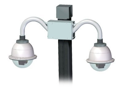 Videolarm POLE MOUNT FOR TWO-DOME INSTALL, PV8, 8402151, Camera & Camcorder Accessories