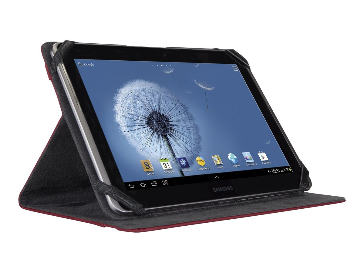 Targus Kickstand Case for Samsung Galaxy 10.1 Tablet, Crimson Red, THZ20002US