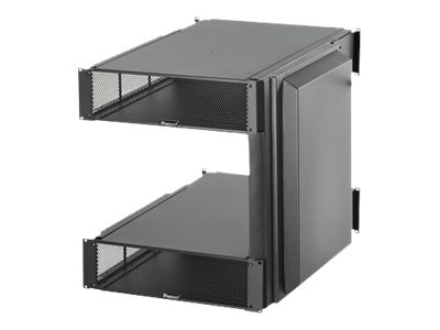 Panduit Net-Direct Air Inlet Duct for Cisco MDS 9506 w  3U Top, 3U Bottom Inlet Ducts, Side Duct, Black, CNLTD72A3