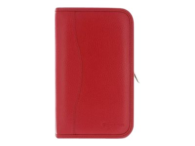 Global Marketing Partners Executive Portfolio Leather Cover for Nexus7  by rooCase, Red