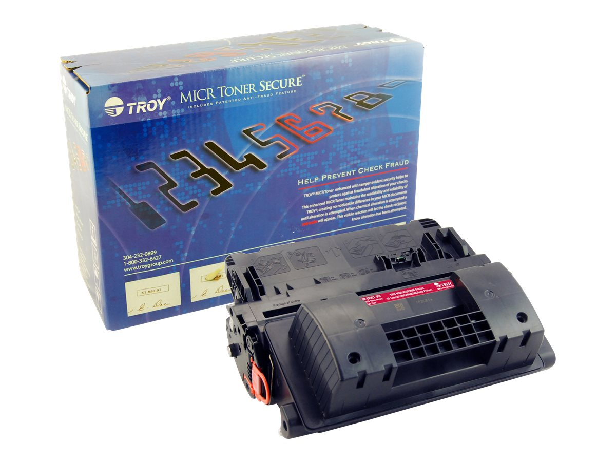Troy Black MICR High Yield Secure Toner Cartridge for M605 & M606