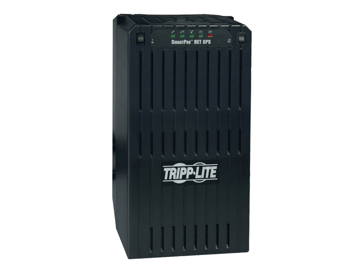 Tripp Lite 3000VA UPS Smart Pro Network Tower Line-Interactive 3kVA (8) Outlet, SMART3000NET, 45092, Battery Backup/UPS