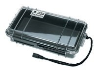 Pelican 1060 Clear Micro Case, Black, 1060-025-100, 11761032, Protective & Dust Covers