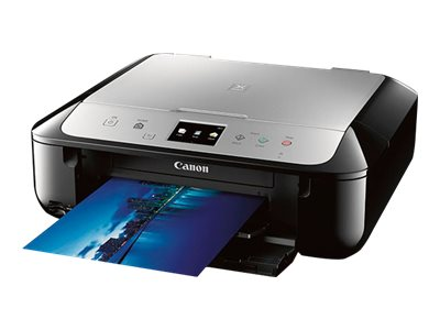Canon PIXMA MG6821 Photo All-In-One Inkjet Printer - Black Silver