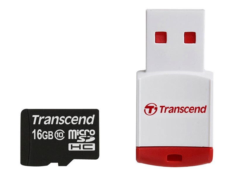 Transcend Information TS16GUSDHC10-P3 Image 1