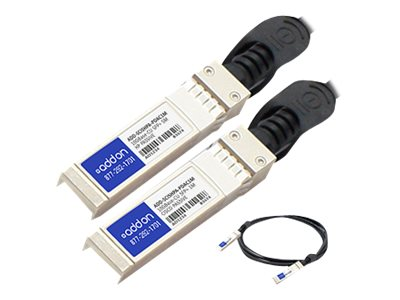 ACP-EP 10GBase-CU SFP+ to SFP+ Direct Attach Passive Twinax Cable, 1m, TAA, ADD-SCISHPA-PDAC1M