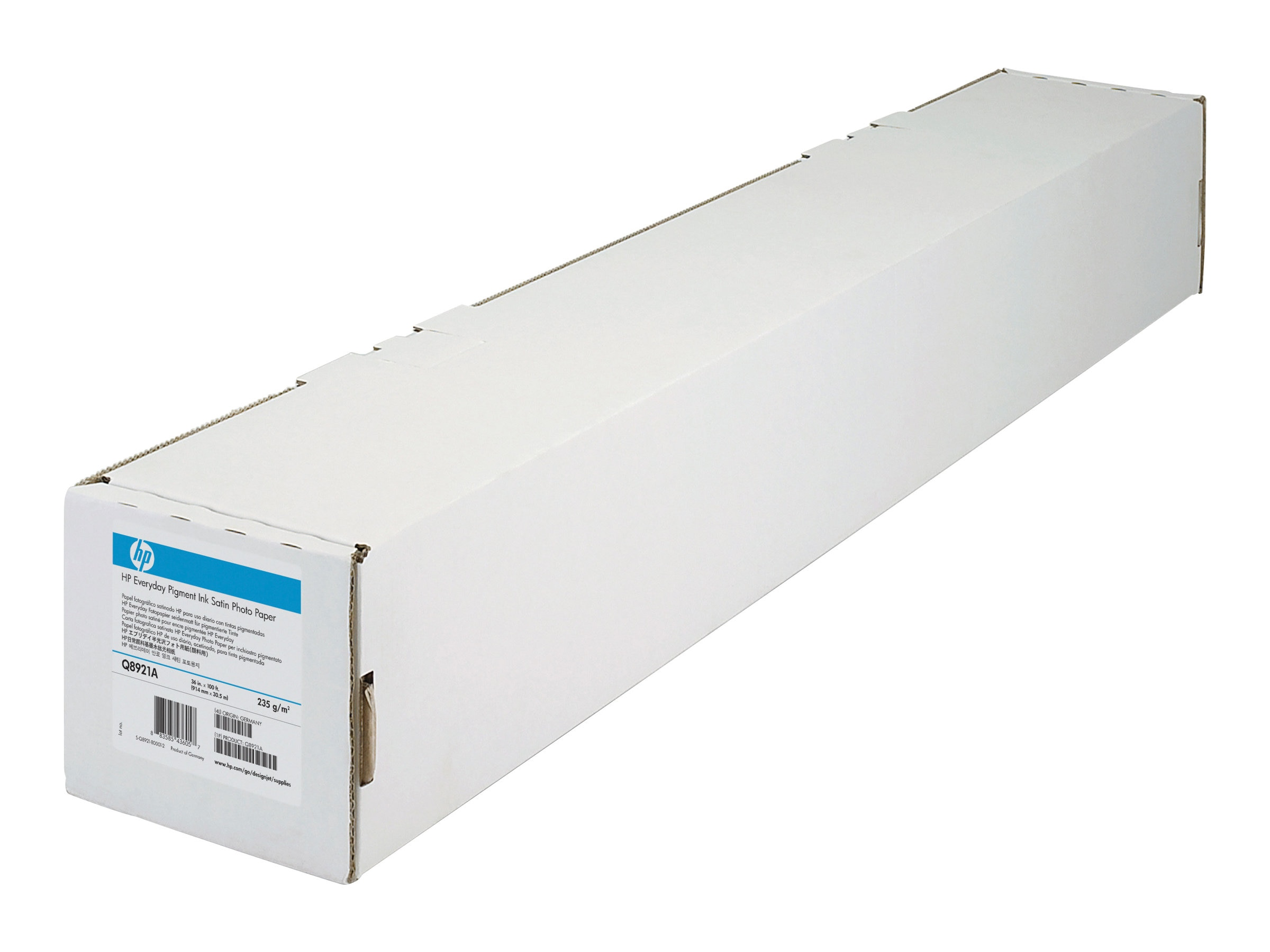 HP 36 x 100' Universal Photo Semi-Gloss Paper, Q1421B, 17093979, Paper, Labels & Other Print Media