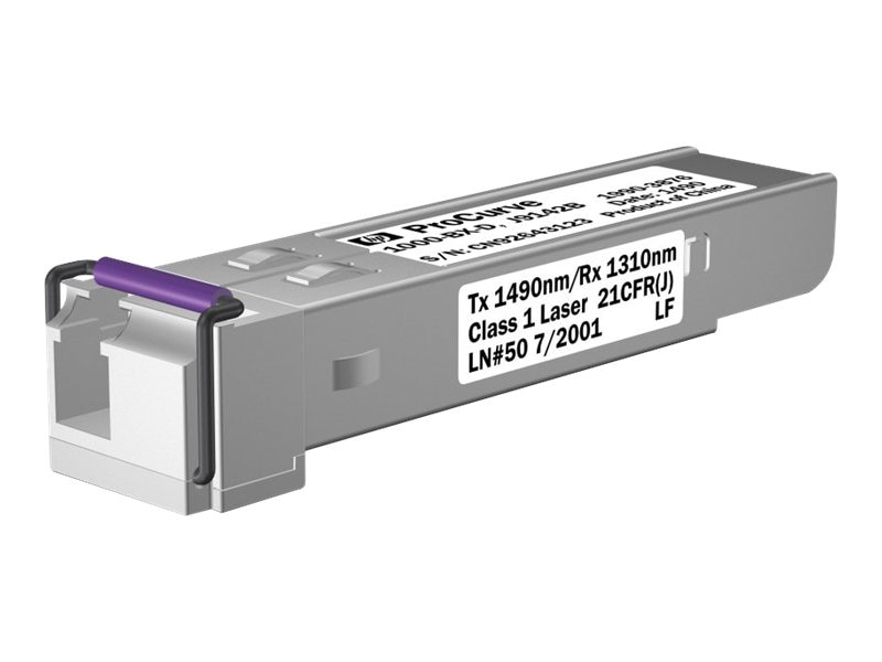 HPE 1000-BX-D SFP-LC Mini-GBIC, J9142B, 9279191, Network Transceivers