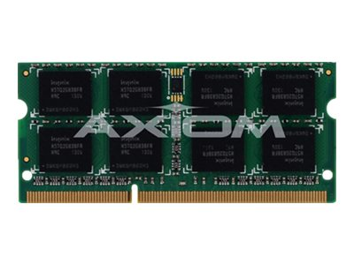 Axiom 8GB PC3-10600 204-pin DDR3 SDRAM SODIMM for EliteBook, ProBook, ThinkPad Models, AX27592503/1