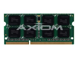 Axiom 8GB PC3-10600 204-pin DDR3 SDRAM SODIMM for EliteBook, ProBook, ThinkPad Models, AX27592503/1, 13076004, Memory
