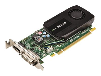 Dell NVIDIA Quadro K600 PCIe 2.0 Graphics Card, 1GB GDDR3, 469-4186, 15963619, Graphics/Video Accelerators