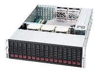 Supermicro Chassis, 3U Rackmount, 16 HS Bays, EATX, 900W RPS, Black, CSE-936A-R900B, 8380095, Cases - Systems/Servers