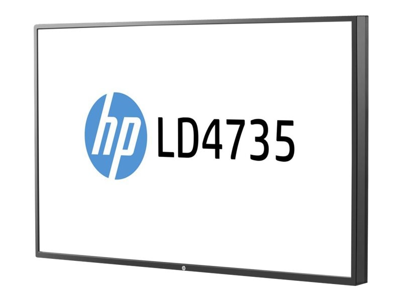 HP 47 LD4735 Full HD LED-LCD Display, Black, F1M94AA#ABA