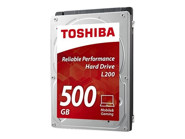 Toshiba 500GB L200 SATA 3Gb s 2.5 Mobile Internal Hard Drive, HDWJ105XZSTA, 29491288, Hard Drives - Internal