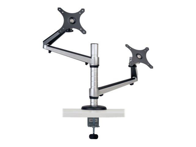 Tripp Lite Dual Full-Motion Flex Arm Desk Clamp for 13-27 Displays, LCDs, Monitors, DDR1327DCS, 19801561, Stands & Mounts - AV