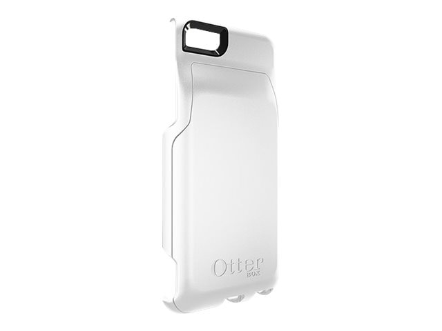 OtterBox Outer Plastic Accessory Commuter Wallet for iPhone 6, White, 78-50039, 22068495, Carrying Cases - Phones/PDAs