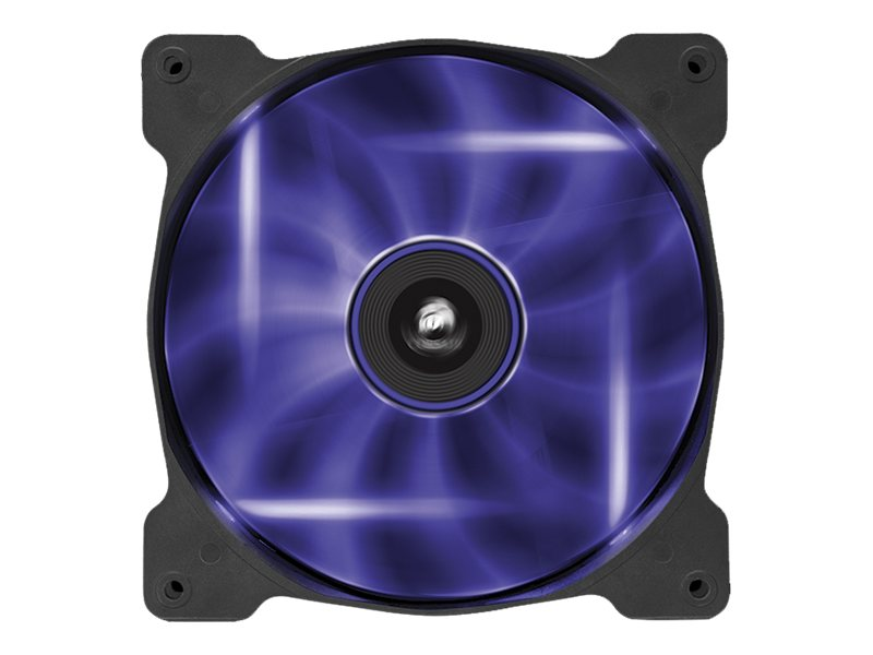 Corsair Air Series AF140 Case Fan Quiet Edition Purple LED, Single Pack, CO-9050017-PLED, 16375122, Cooling Systems/Fans