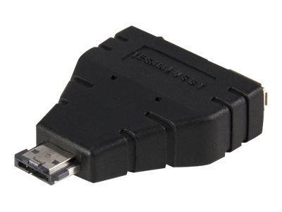StarTech.com Power eSATA to eSATA and USB Adapter (M-F), ESATAUSBBO, 10238426, Adapters & Port Converters