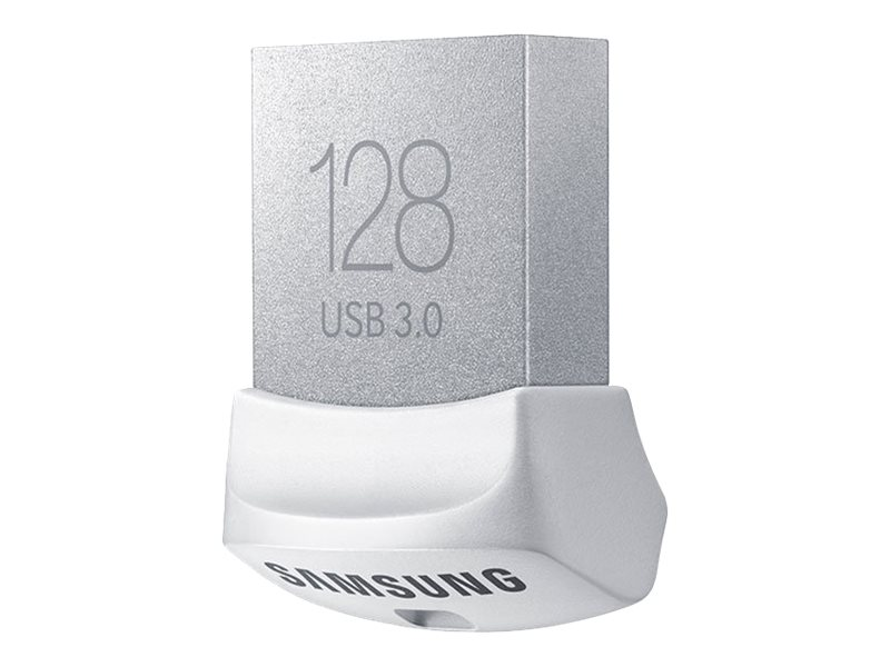 Samsung 128GB Fit USB 3.0 Flash Drive, White, MUF-128BB/AM