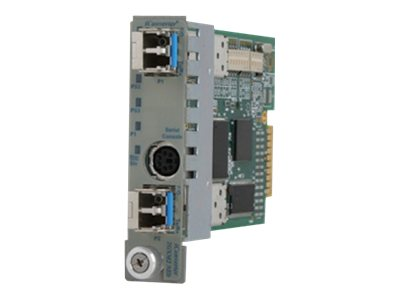 Omnitron iConverter 2GXM 1000X SFP to 1000X SFP Module with Management, 8999-0, 14249552, Network Transceivers