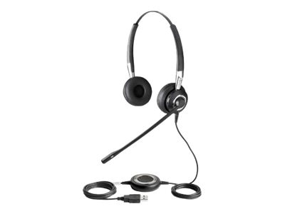 Jabra BIZ 2400 Stereo Noise Cancelling, OC, USB, 2499-823-105, 9913551, Headsets (w/ microphone)