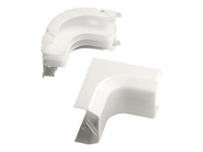 Panduit Inside Corner Fitting Non-adjustable TG Raceway, Electric Ivory